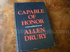 First Edition of Capable of Honor
