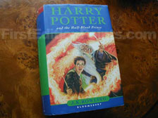 First Edition of Harry Potter and the Half-Blood Prince