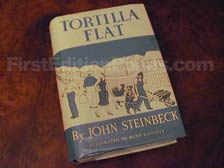 First Edition of Tortilla Flat