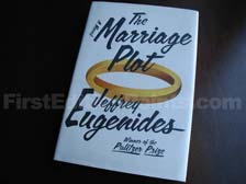 First Edition of The Marriage Plot
