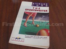 First Edition of The Sportswriter