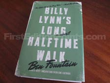 First Edition of Billy Lynn