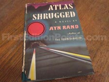 First Edition of Atlas Shrugged