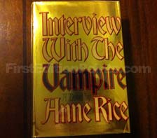 First Edition of Interview with the Vampire