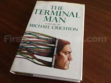 First Edition of The Terminal Man
