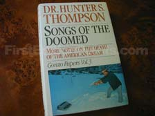 First Edition of Songs of the Doomed