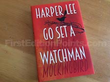 First Edition of Go Set a Watchman (UK)
