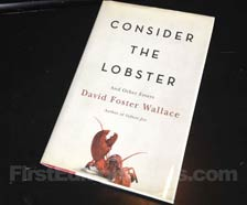 First Edition of Consider the Lobster and Other Essays