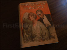 First Edition of This Side of Paradise