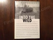 First Edition of Into the Wild