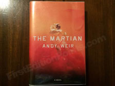 First Edition of The Martian