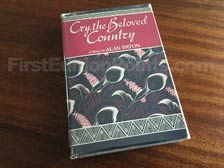 First Edition of Cry, the Beloved Country (US)