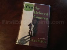 First Edition of Cry, the Beloved County (UK)