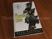 First Edition of The Lightning Thief