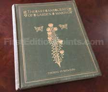 First Edition of The Art and Craft of Garden Making