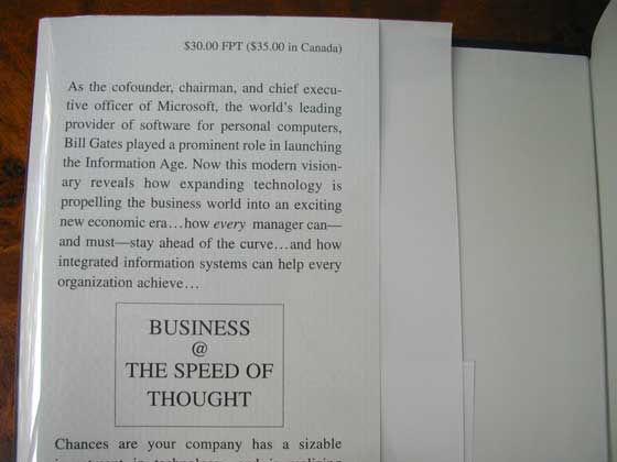 Business At The Speed Of Thought: Amazon.com: Books