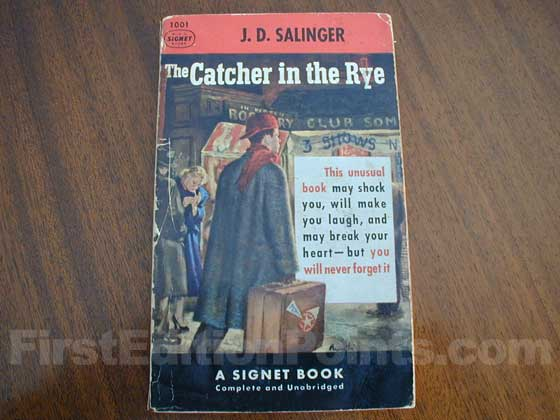 This is the first edition paperback published by SIGNET in 1953.