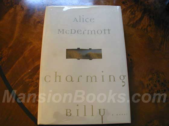 Picture of the 1998 first edition dust jacket for Charming Billy.