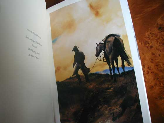 William Mathews painted seven watercolors - six full pages plus the book cover.