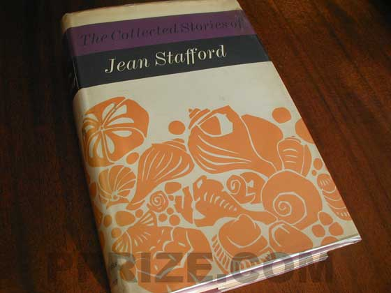Picture of the 1969 first edition dust jacket for Collected Stories of Jean Staff