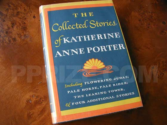 Picture of the 1965 first edition dust jacket for The Collected Stories of Katherine Anne