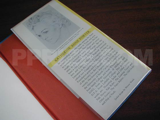 Picture of the back dust jacket flap for The Collected Stories of Katherine Anne Porter