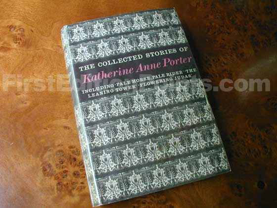Picture of the 1964 first edition dust jacket for The Collected Stories of Katherine Anne