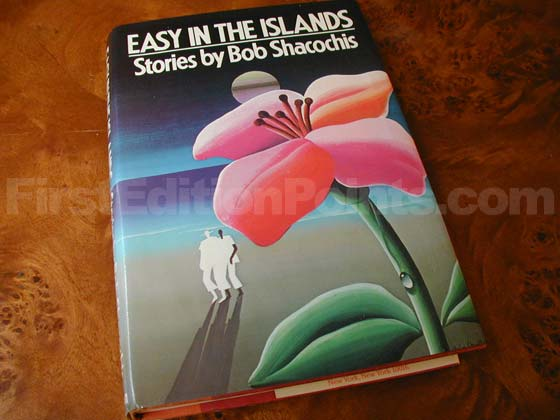 Picture of the 1985 first edition dust jacket for Easy In The Islands.