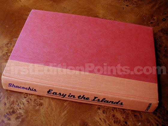 Picture of the first edition Crown boards for Easy In The Islands.