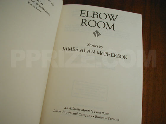 Picture of the title page for Elbow Room.