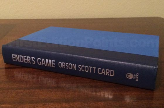 Picture of the first edition TOR boards for Ender's Game.
