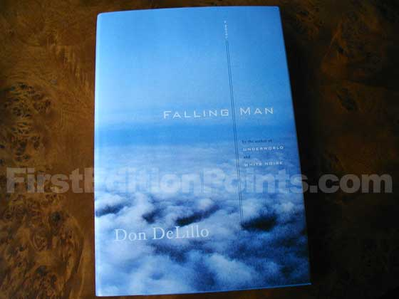 Picture of the 2007 first edition dust jacket for Falling Man.
