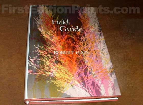Picture of the 1973 first edition dust jacket for Field Guide.