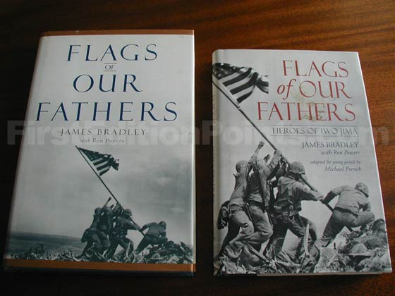 This is a photo of the true first (left) along side of the young people's edition