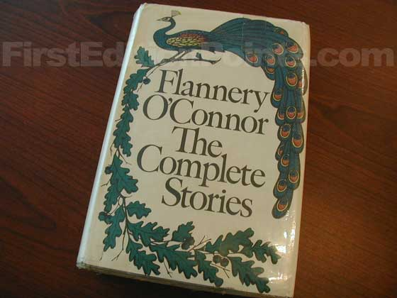 Picture of the 1971 first edition dust jacket for The Complete Stories.