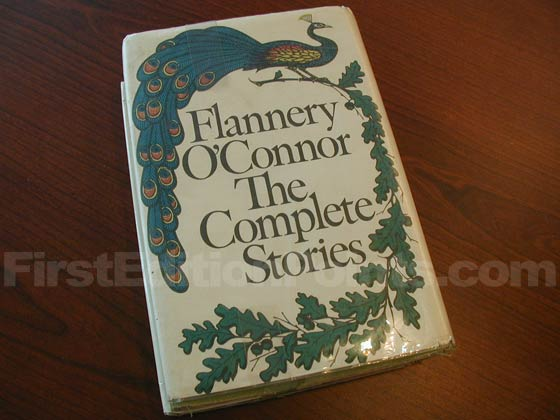 Picture of the back dust jacket for the first edition of The Complete Stories.