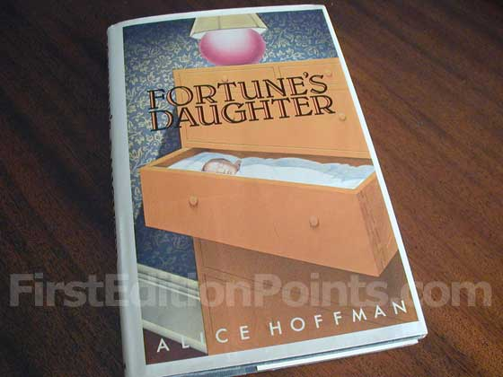 Picture of the 1985 first edition dust jacket for Fortune's Daughter.
