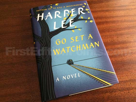 Picture of the 2015 first edition dust jacket for Go Set a Watchman.
