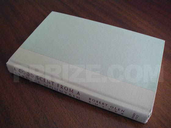 Picture of the first edition Henry Holt And Company boards for A Good Scent From a