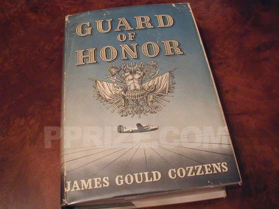 Picture of the 1948 first edition dust jacket for Guard of Honor.