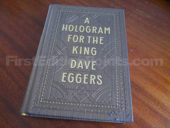 Picture of the boards for the first edition of A Hologram For The King.