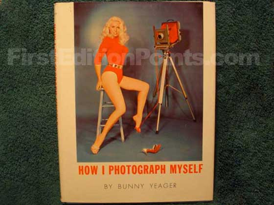 Picture of the 1964 first edition dust jacket for How I Photograph Myself.