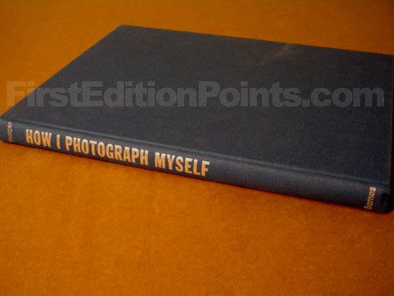 Picture of the first edition Barnes and Company boards for How I Photograph Myself.
