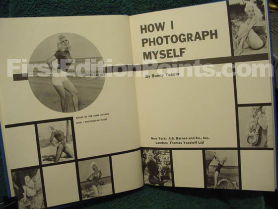 Picture of the first edition title page for How I Photograph Myself.