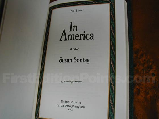 Picture of the title page from the limited signed first edition.