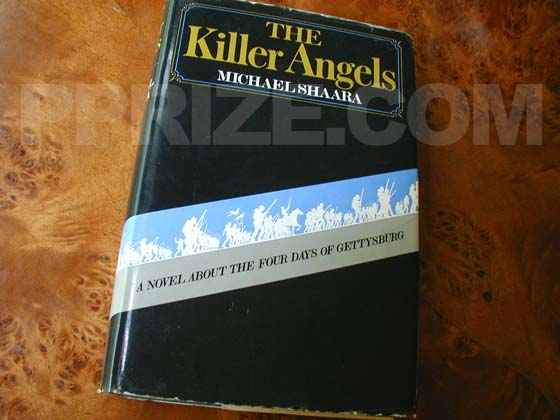 Picture of the 1974 first edition dust jacket for The Killer Angels.