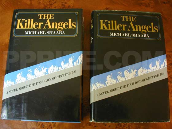 The dust jacket from the reprint edition (on the left) is similar to that of the true