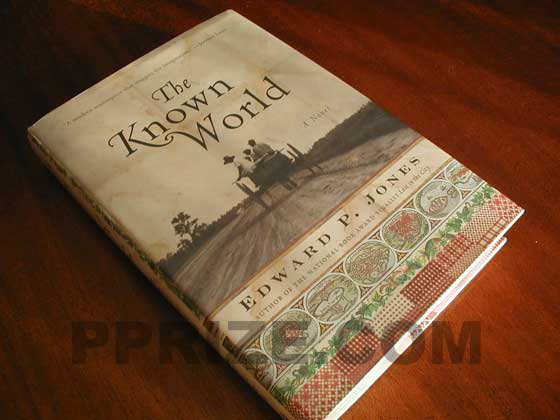 Picture of the 2003 first edition dust jacket for The Known World.