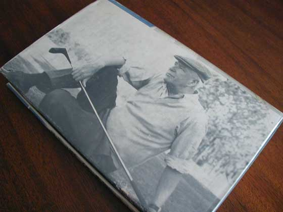 Picture of the back dust jacket for the first edition of Life at Happy Knoll.