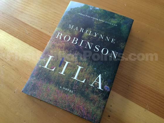 Picture of the 2014 first edition dust jacket for Lila.